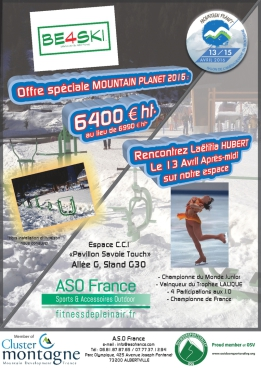 ASO France Mountain Planet Grenoble 2016 - Offre Spéciale