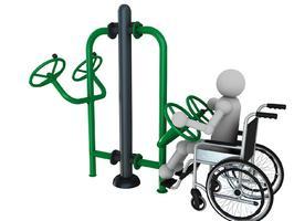 appareil de fitness pour personne a mobilité réduite - ASO France