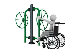 Fitness de plein air pour personne a mobilité réduite - ASO France