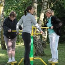 Aire de fitness en plein air convivial ASO France