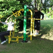Aire de fitness en plein air amis ASO France