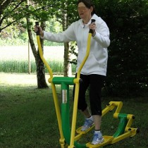 Aire de fitness en plein air sport ludique ASO France