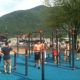 Street Workout Albertville, Savoie ASO France